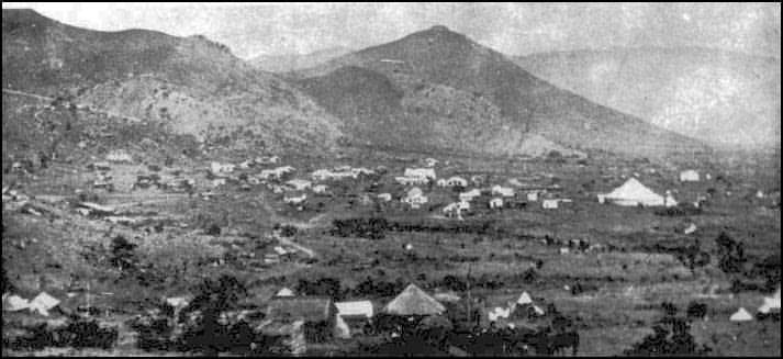 Barberton, around 1890 - Eastern Transvaal (now Mpumalanga)